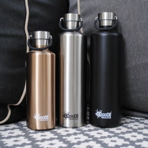 600ml Classic Insulated Bottle - Champagne (1)