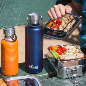 600ml Classic Insulated Bottle - Ocean (3)